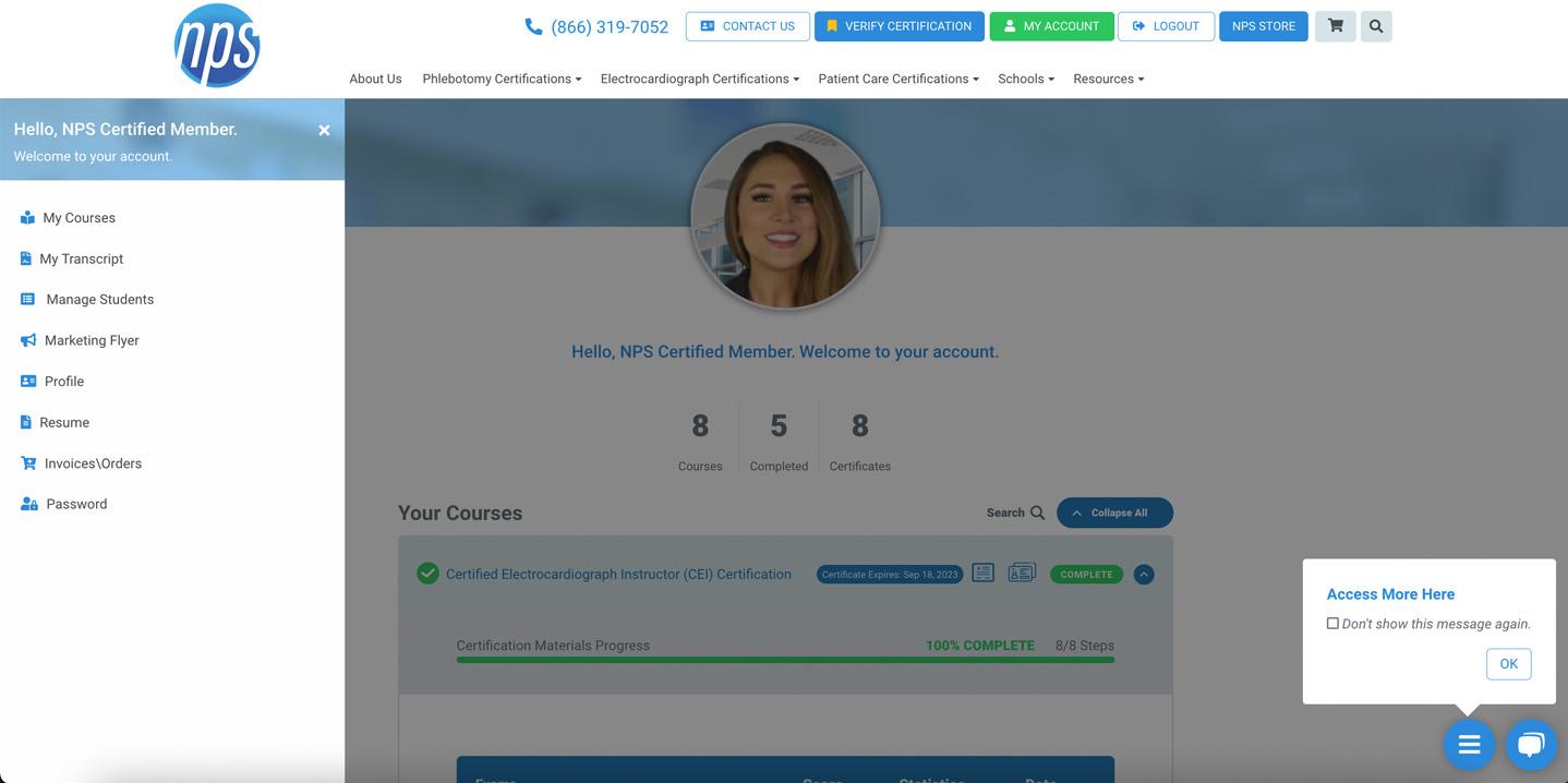 NPS My Account Portal