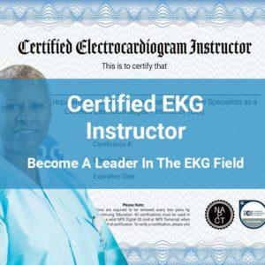 EKG Instructor Certification