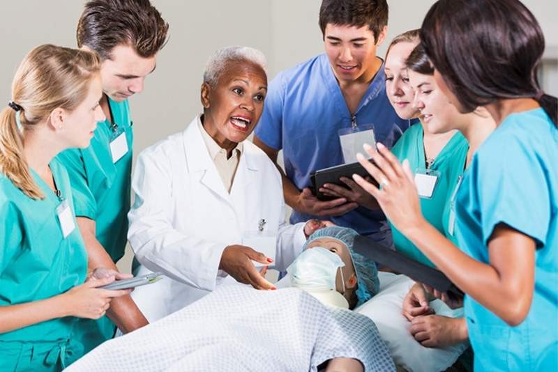 Happily Employed Certified Patient Care Tech In Hospital1
