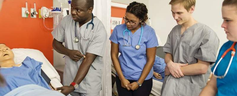 Class Hospital Setting Adult Education Phlebotomy 61